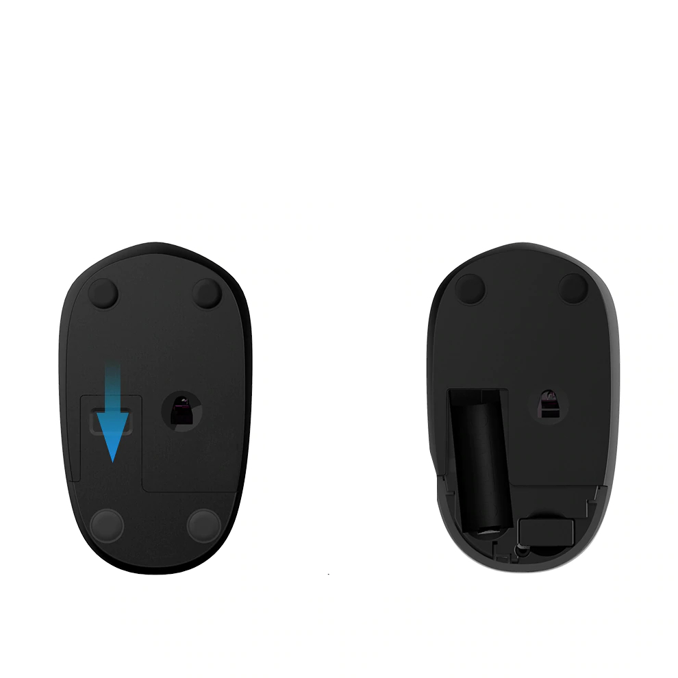 2.4GHz Wireless Black Mouse for Laptop