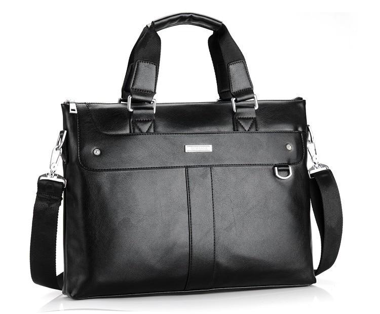 Men's Casual Leather Portfolio Bag