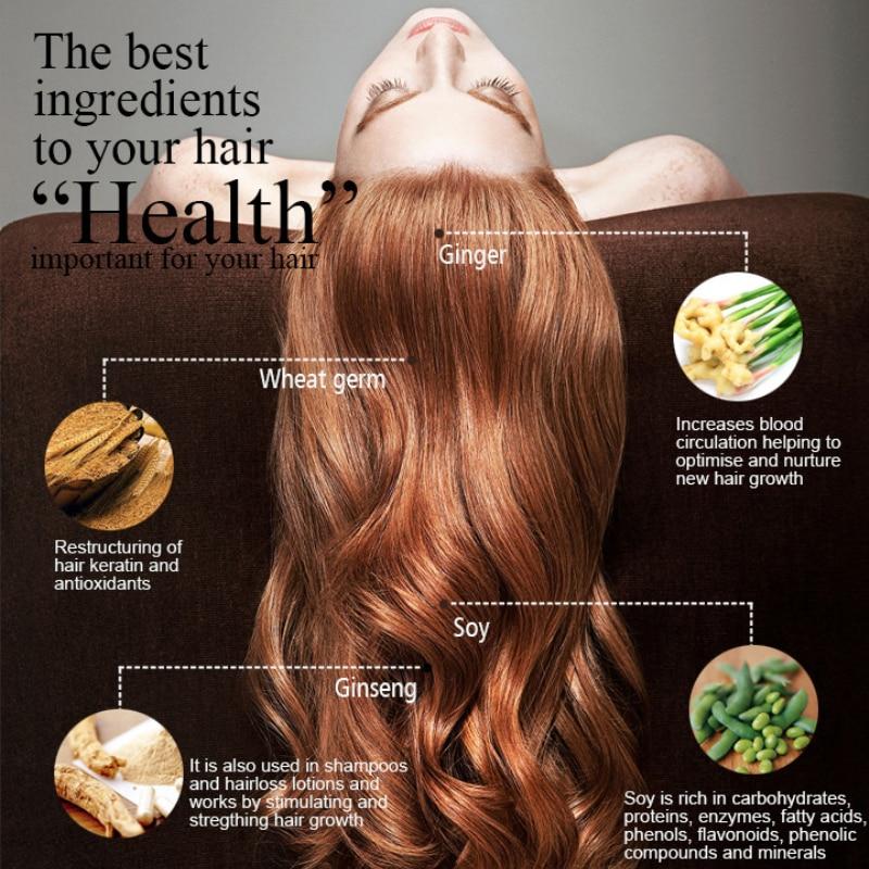 Hair Care Herbal Ginger Shampoo