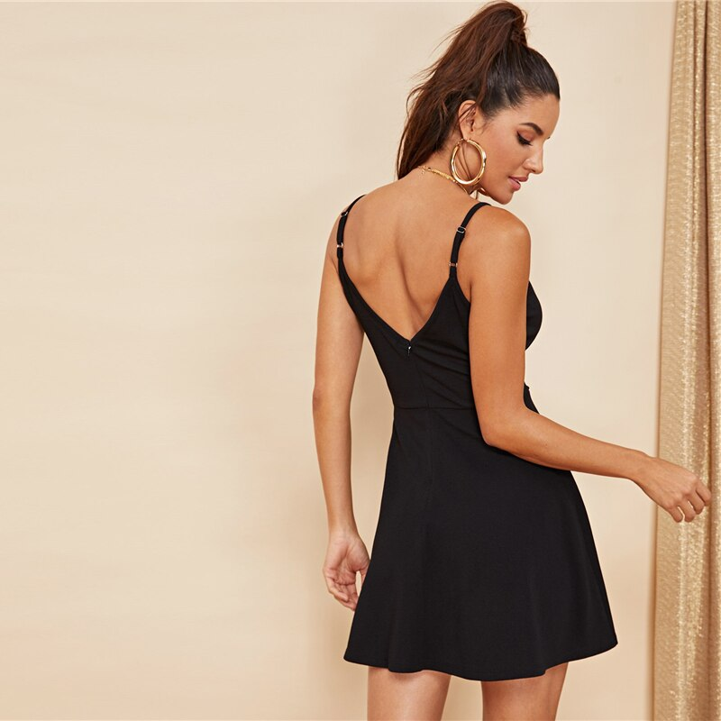 Women's Sexy Backless Party Dress