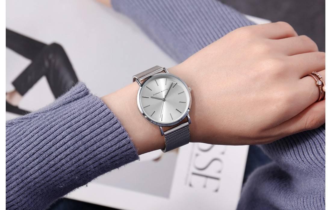 Women's Stainless Steel Quartz Watch