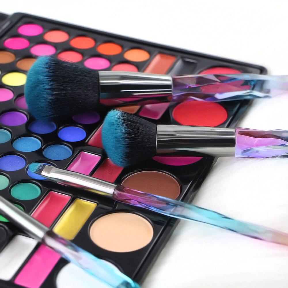 Colorful Makeup Brushes 10 pcs Set