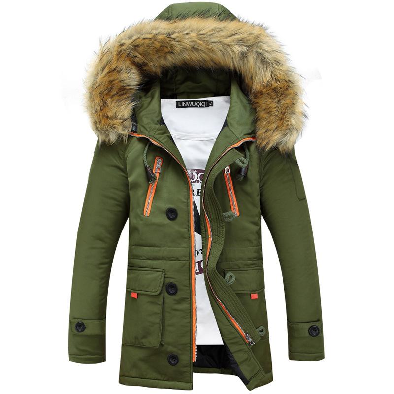 Thick Men's Winter Coat
